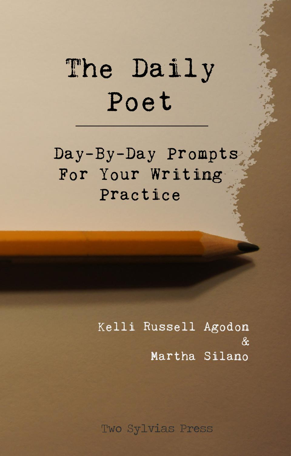 daily poet poetry writing prompts two sylvias press book cover
