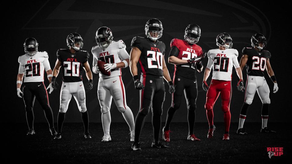 Falcons entire uniform set