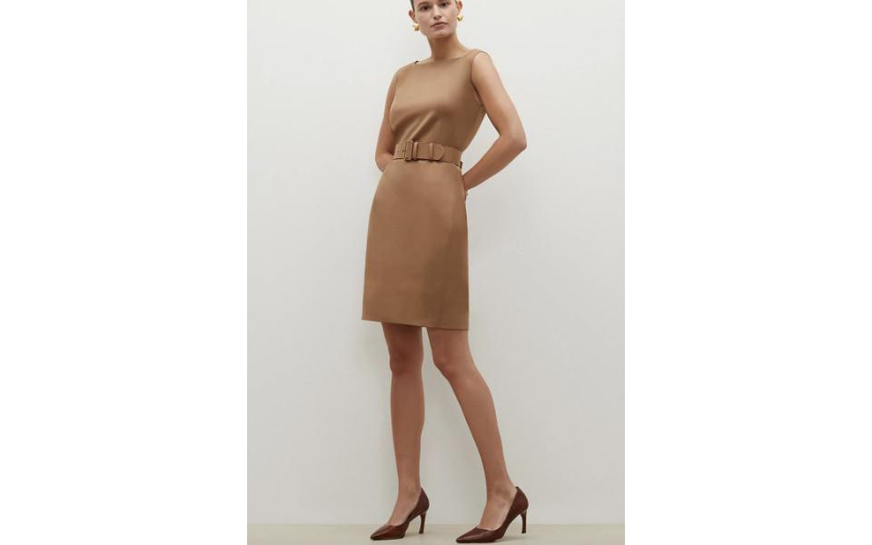 M.M. LaFleur The Cynthia Dress - Washable Wool Twill