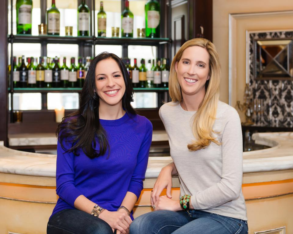 Lara Crystal (left) and Lindsey Andrews of Minibar Delivery