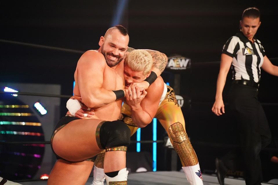 Shawn Spears Cody Rhodes AEW Dynamite TNT Championship