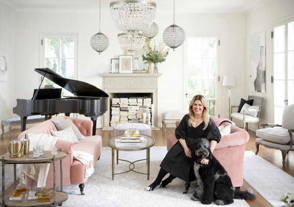 Kelly Clarkson launches new home collection with Wayfair.