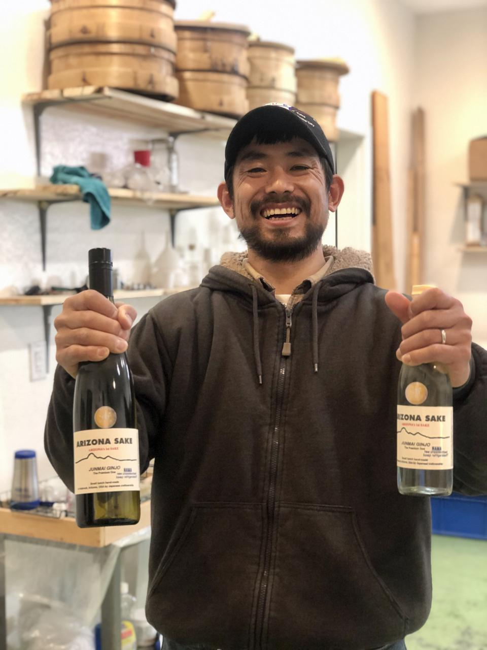 Atsuo Sakurai launched Arizona Sake in the tiny town of Holbrook.