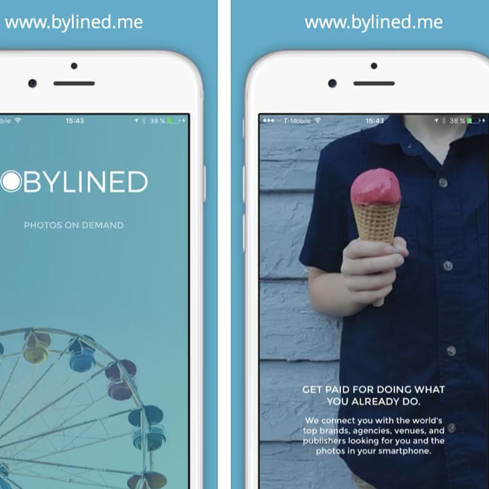 The BYLINED app launched in late 2016.