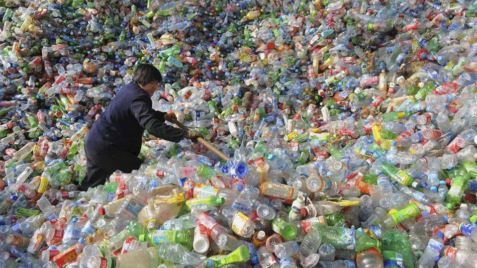 Americans throw away 35 billion empty water bottles a year.
