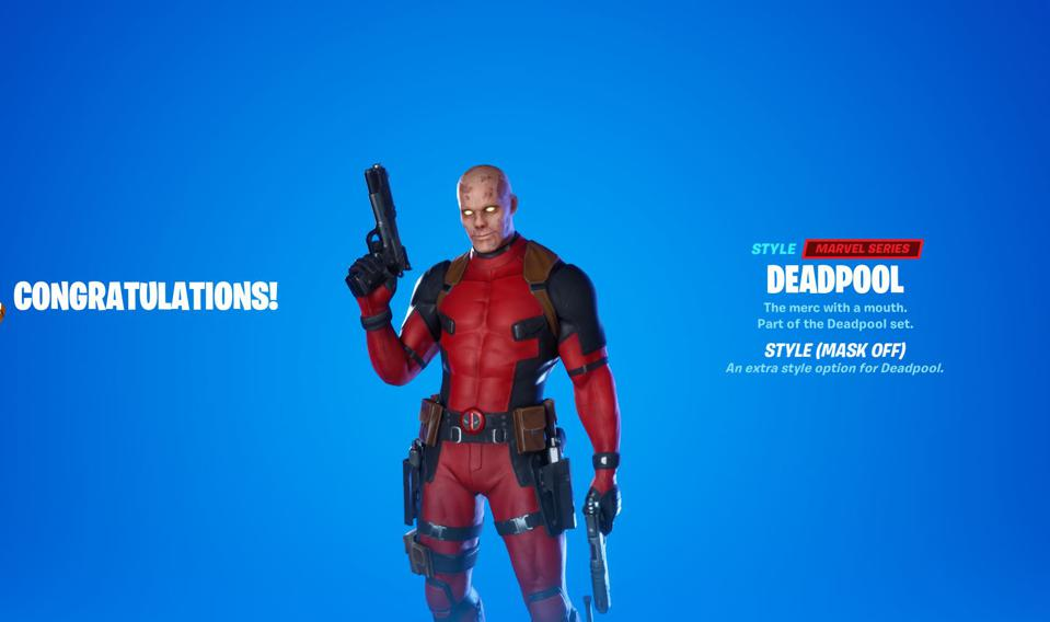 Fortnite How To Unlock The Deadpool Skin And The Deadpool Unmasked Style Variant