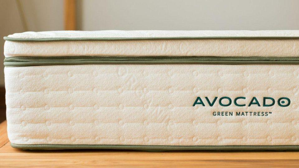 Avocado Green Mattress Latex Topper Natural Latex Mattress Topper & Mattress Pads