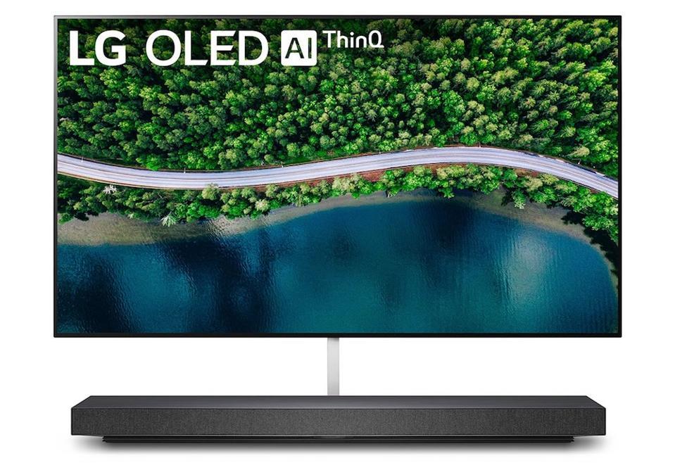 The LG OLED65WX