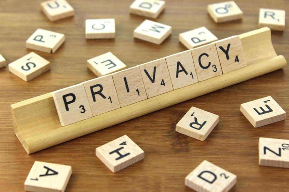 Privacy scrabble