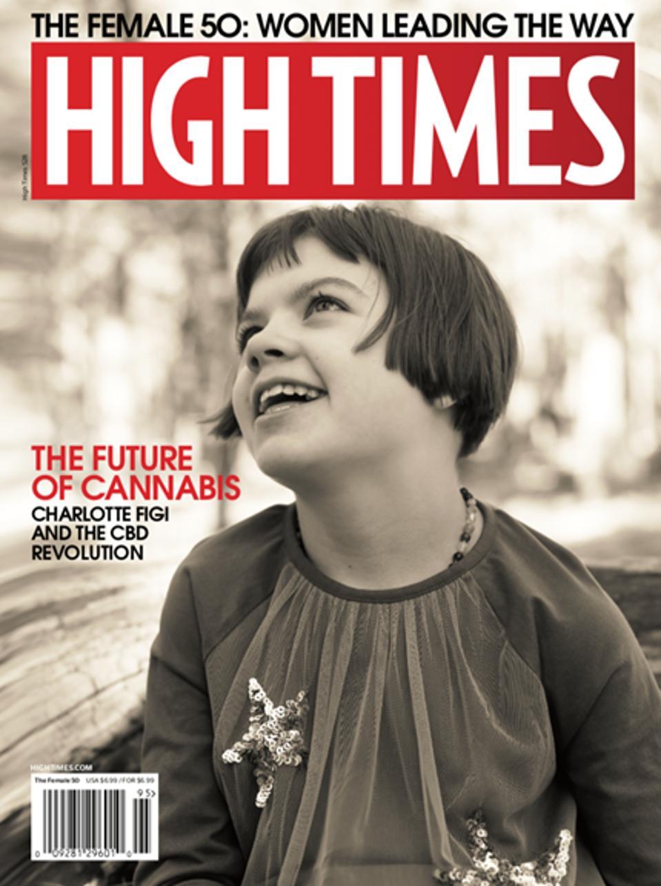 Charlotte Figi, High Times, CBD movement, Charlotte's Web, medical marijuana