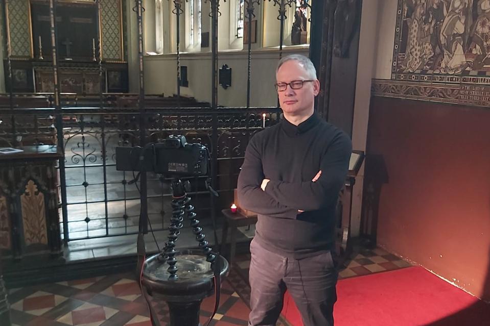 Fr Alan Gyle, Vicar of St Paul's Knightsbridge
