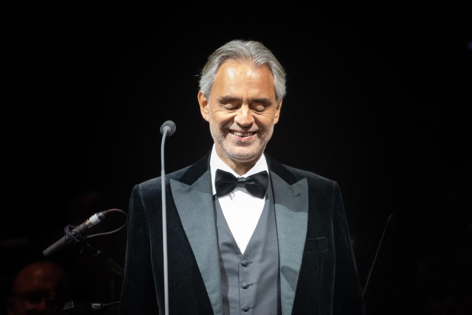 Andrea Bocelli Performs At The SSE Hydro, Glasgow