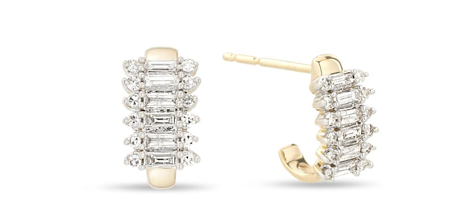 Mother S Day Gift Guide The Best Everyday Diamond Earrings