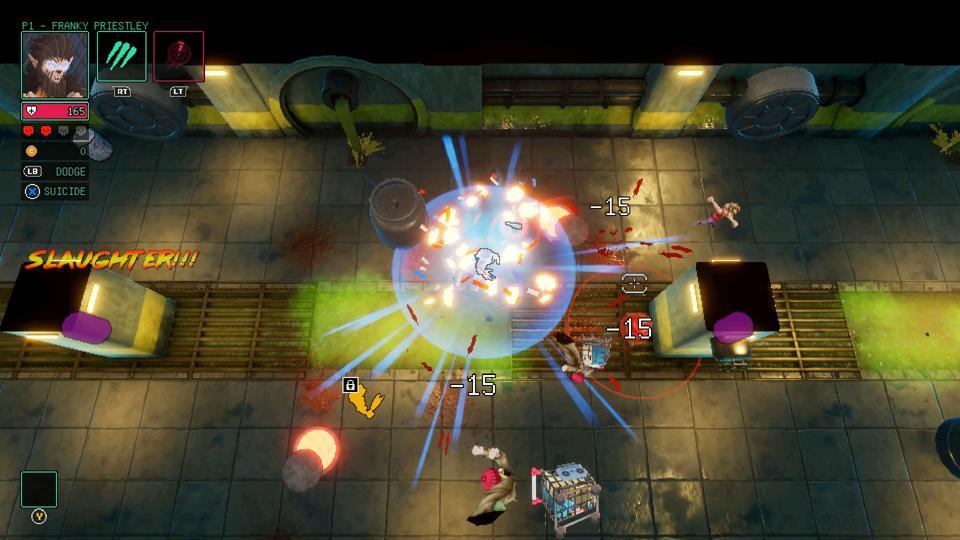 HyperParasite in game