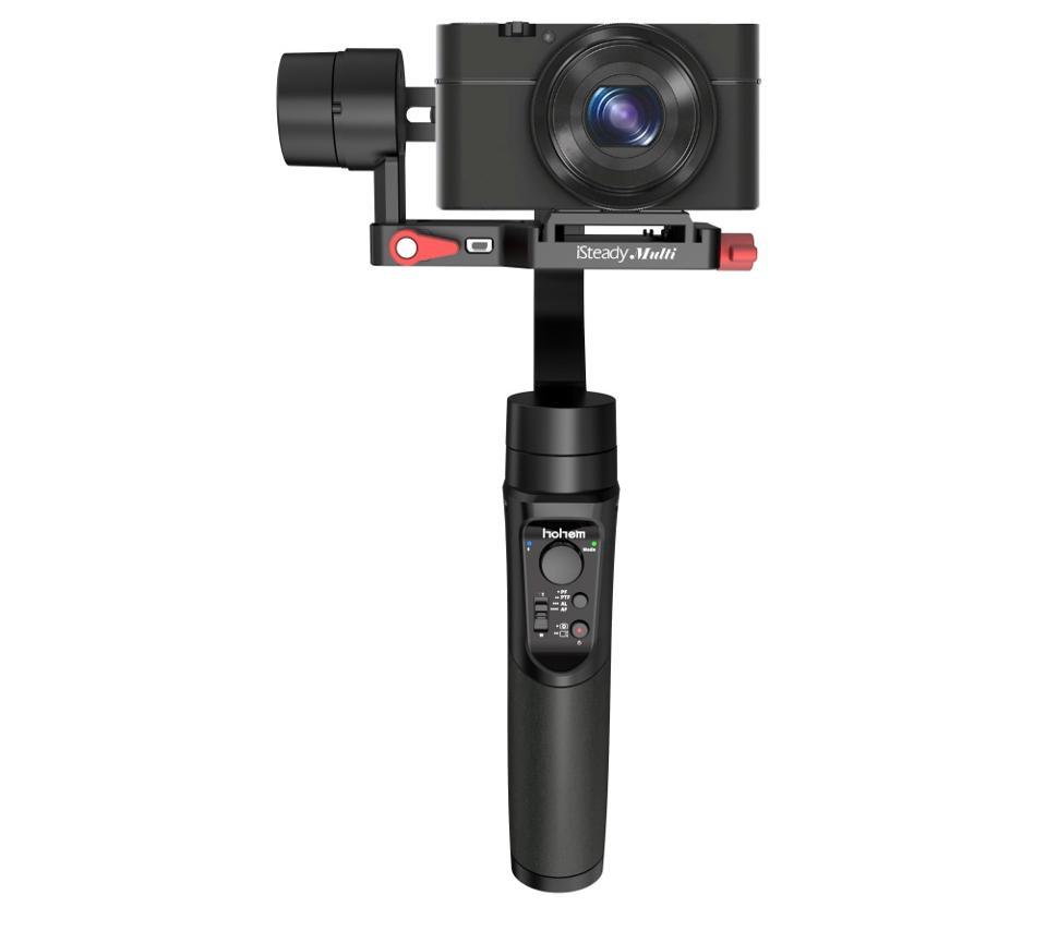 hohem iSteady Multi gimbal with compact camera