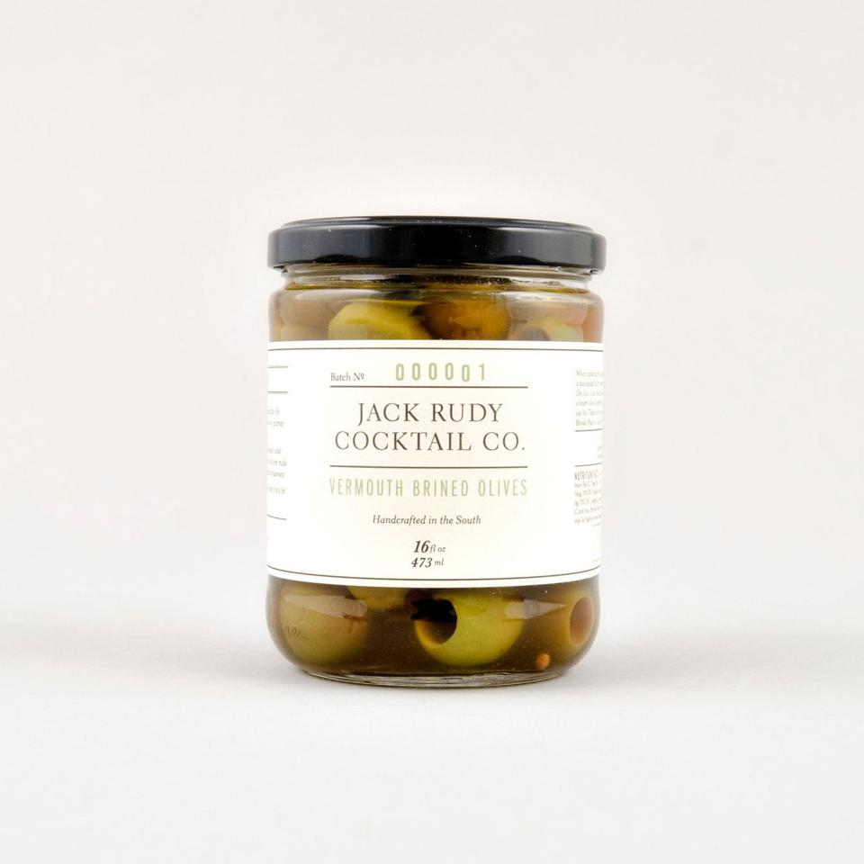Jack Rudy Vermouth Brined Olives