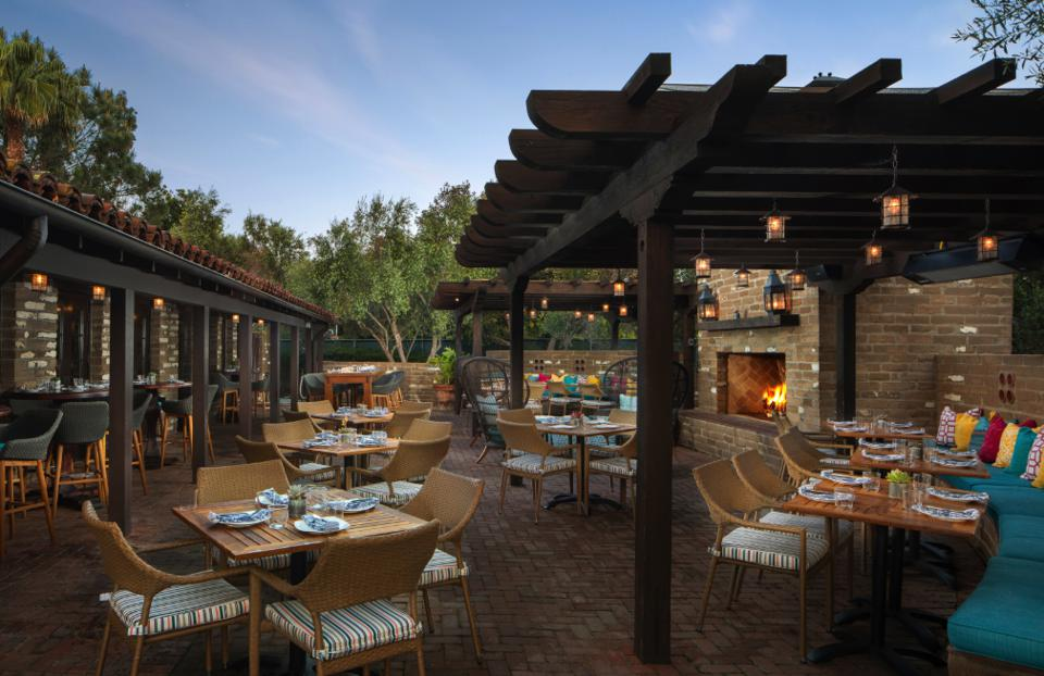 Mustangs and Burros is the restaurant at the Estancia.