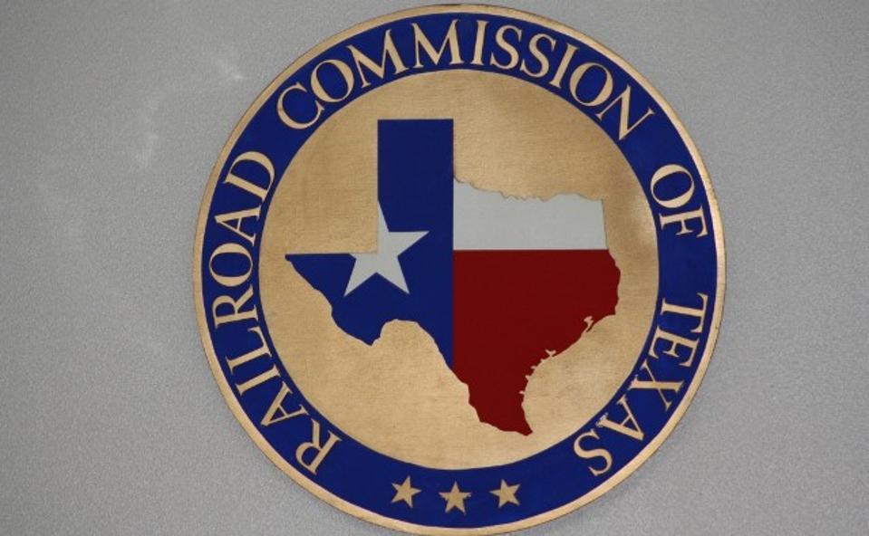 The Texas Railroad Commission Shield.
