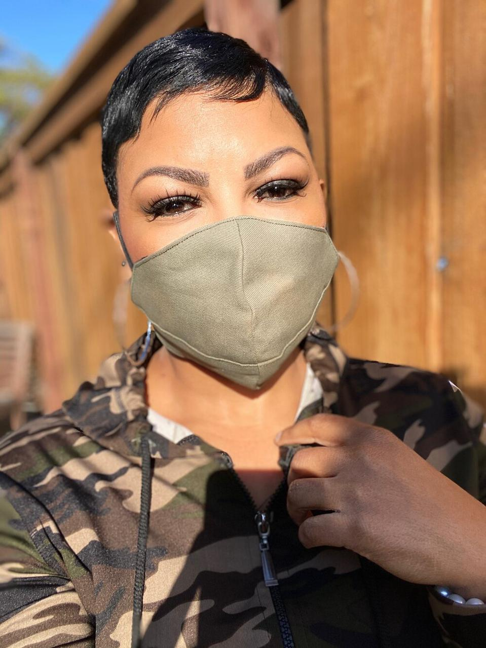 Taylor Jay face mask