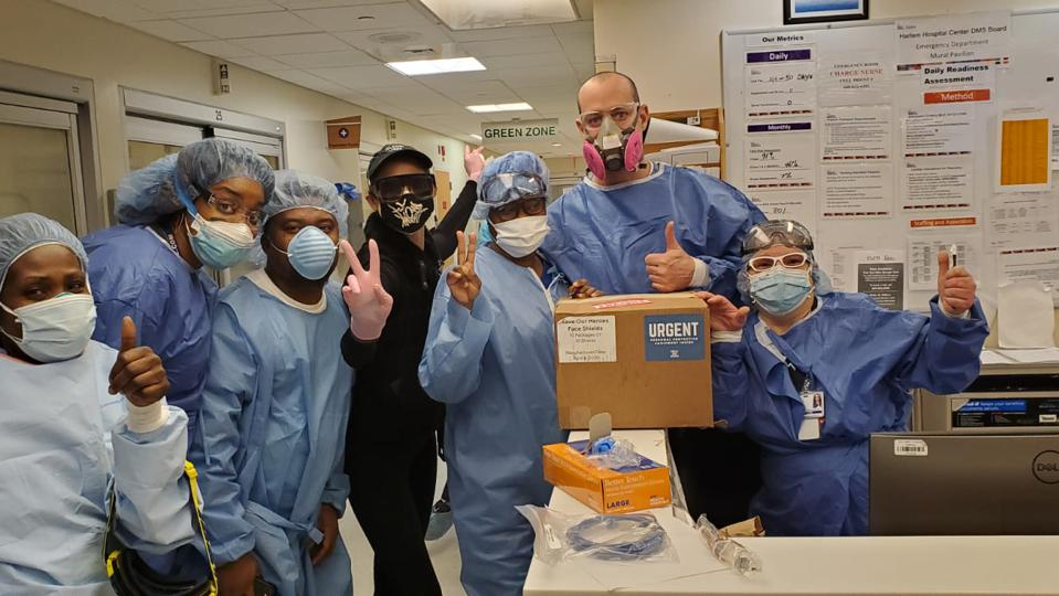Medical Professionals thank the HATCH team.