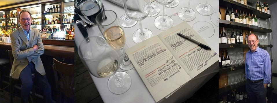 John Foy is a wine consultant with an expert palate.