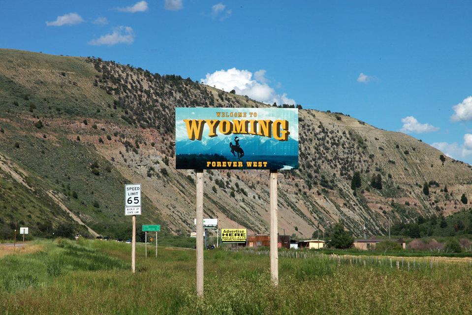 Wyoming Idaho border