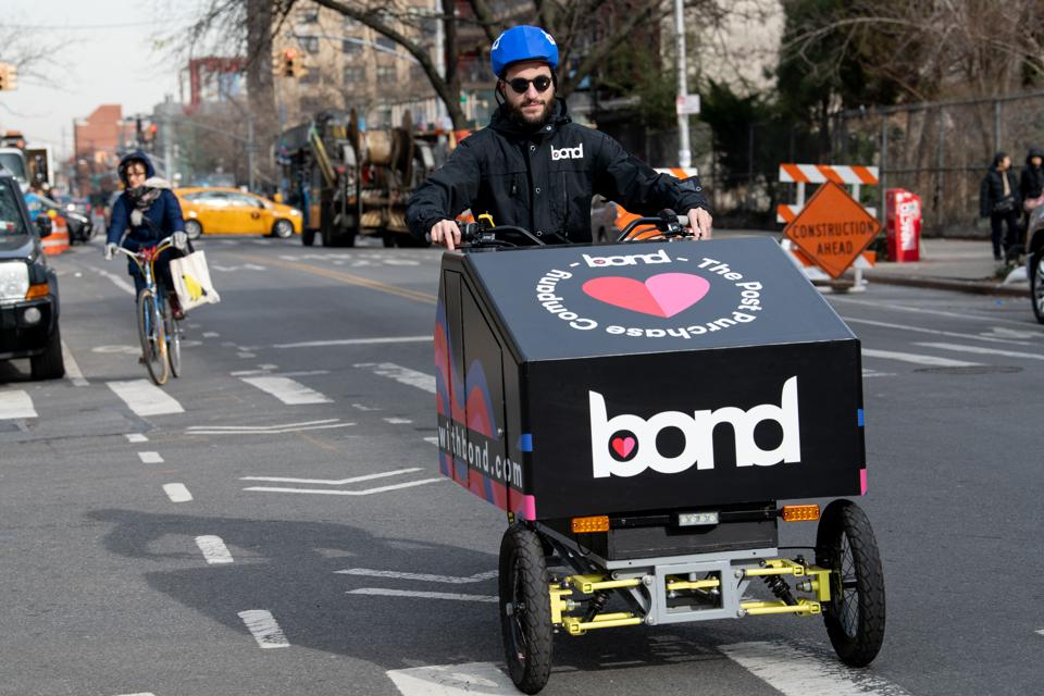 bondmobile, startup, nyc, new york, electronic vehicles, delivery