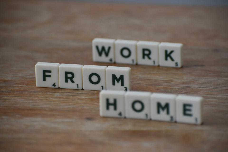 How do people work remotely or from home?