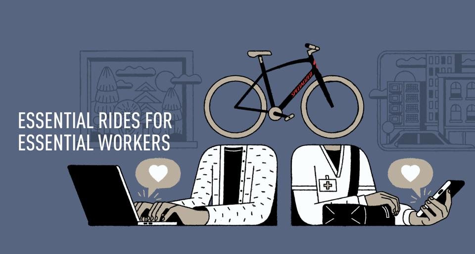 Essential rides for essential workers program.