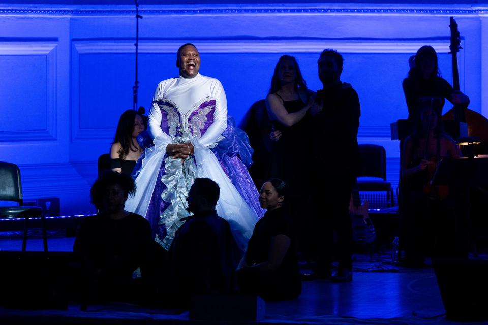 Tituss Burgess at Carnegie Hall Stephen Sondheim tribute concert February 1.