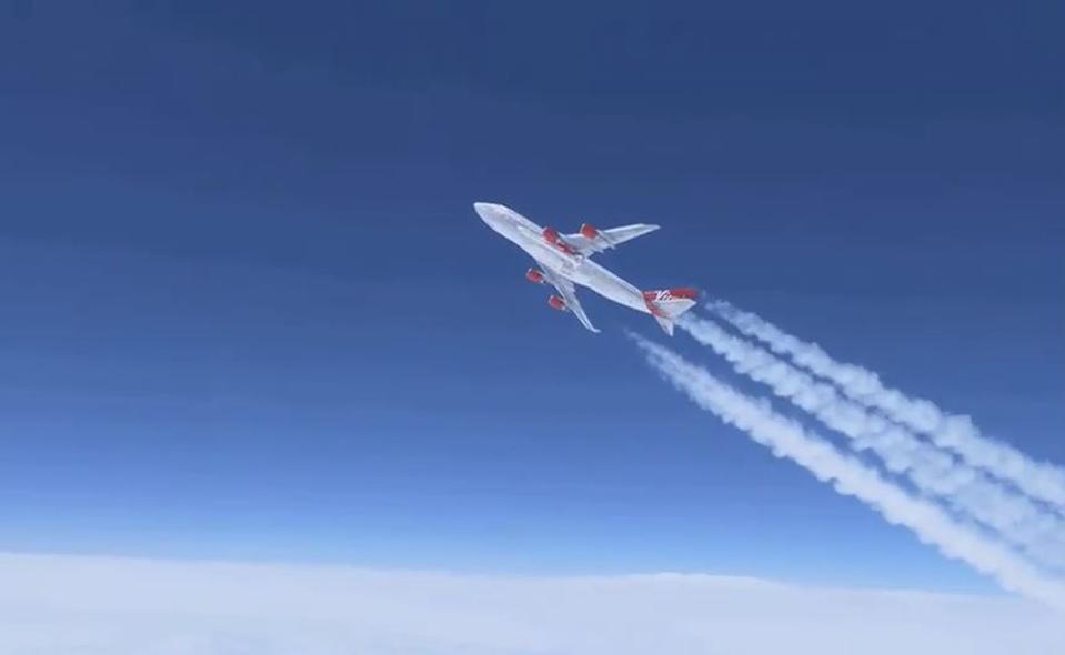Virgin Orbit Launch Demo test