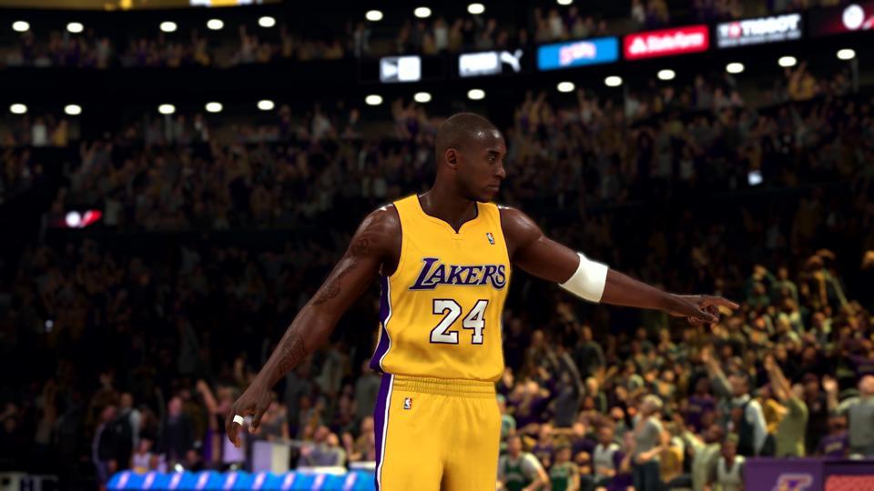 Kobe Bryant in NBA 2K20