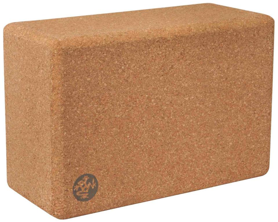 The best at-home yoga gear for Mother's Day: Manduka cork block
