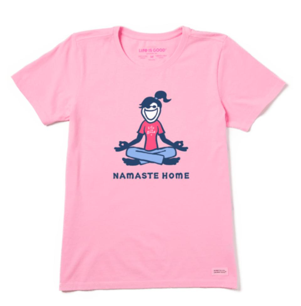 The best at-home yoga gear for Mother's Day: Life Is Good T-Shirt