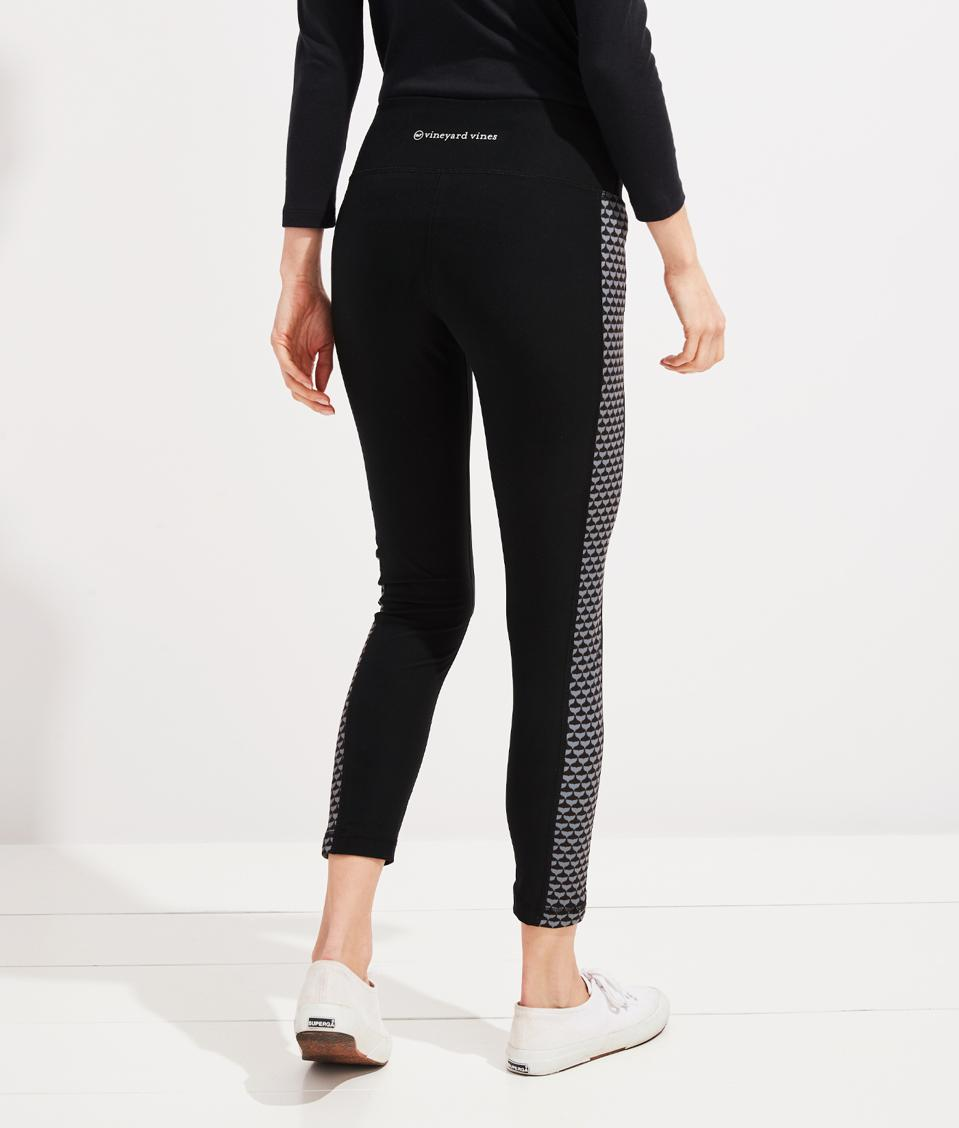 The best at-home yoga gear for Mother's Day: Vineyard Vines Side Panel Leggings