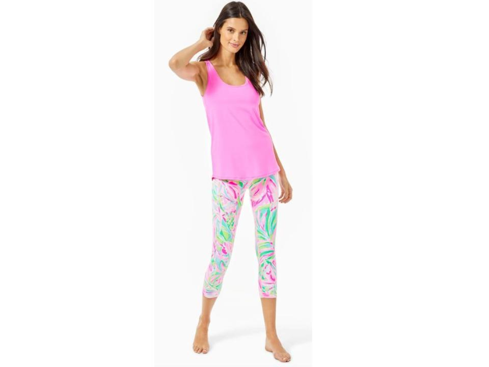 The best at-home yoga gear for Mother's Day: Lilly Pulitzer Yoga Apparel