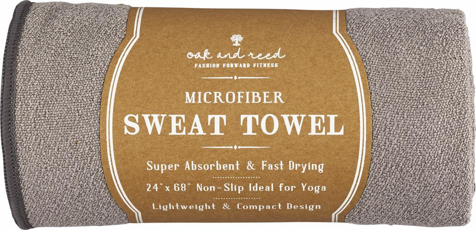 The best at-home yoga gear for Mother's Day: Oak and Reed Microfiber Towel