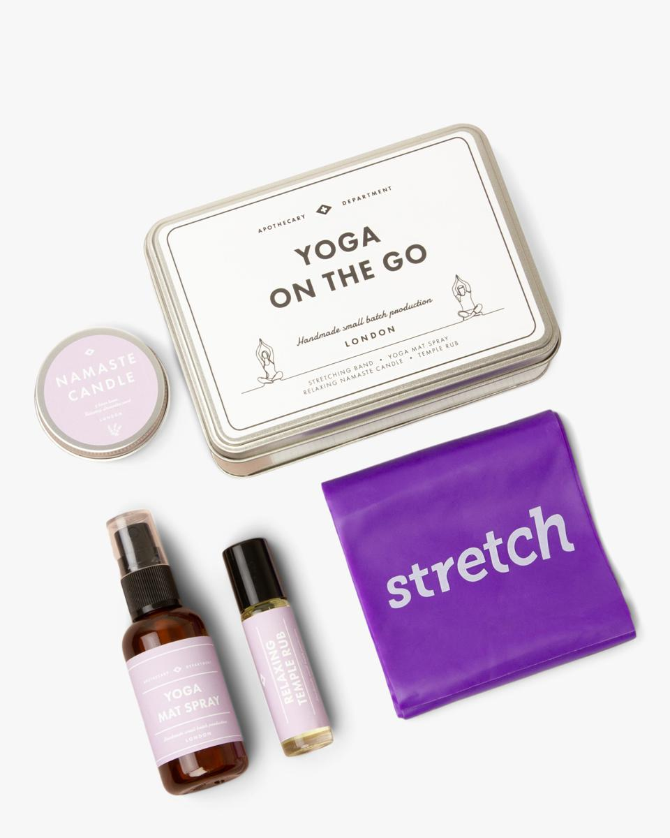 The best at-home yoga gear for Mother's Day: Yoga on the Go Kit