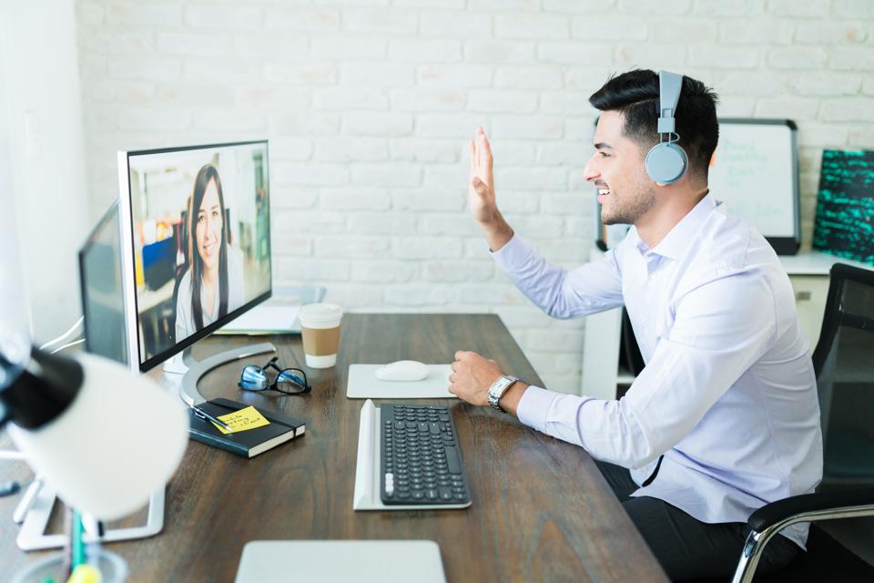 The more you practice for a video interview, the more comfortable you'll feel.