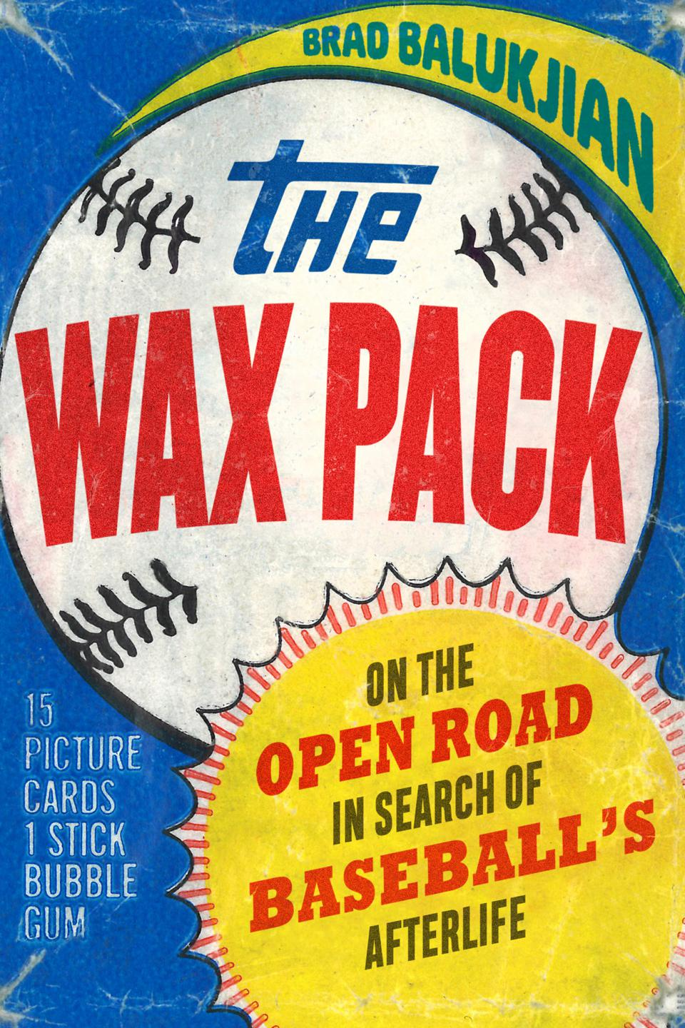 The front cover of the new book ″The Wax Pack″