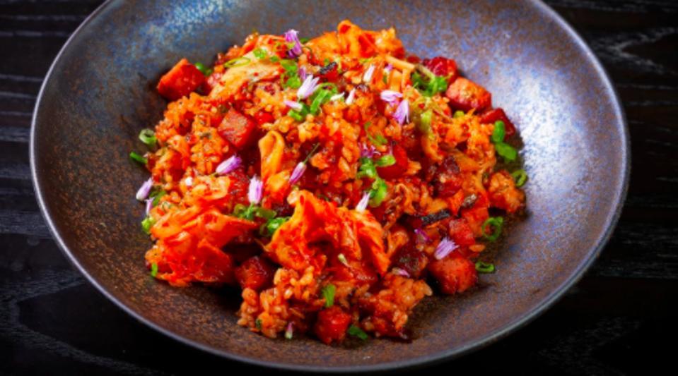 S.P.A.M. Fried Rice from Chefs Michelle Karr-Ueoka & Wade Ueoka.