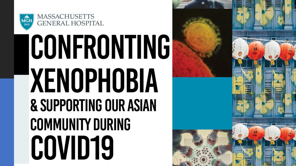 Brochure, ″Confronting Xenophobia and Supporting Our Asian Community During COVID19
