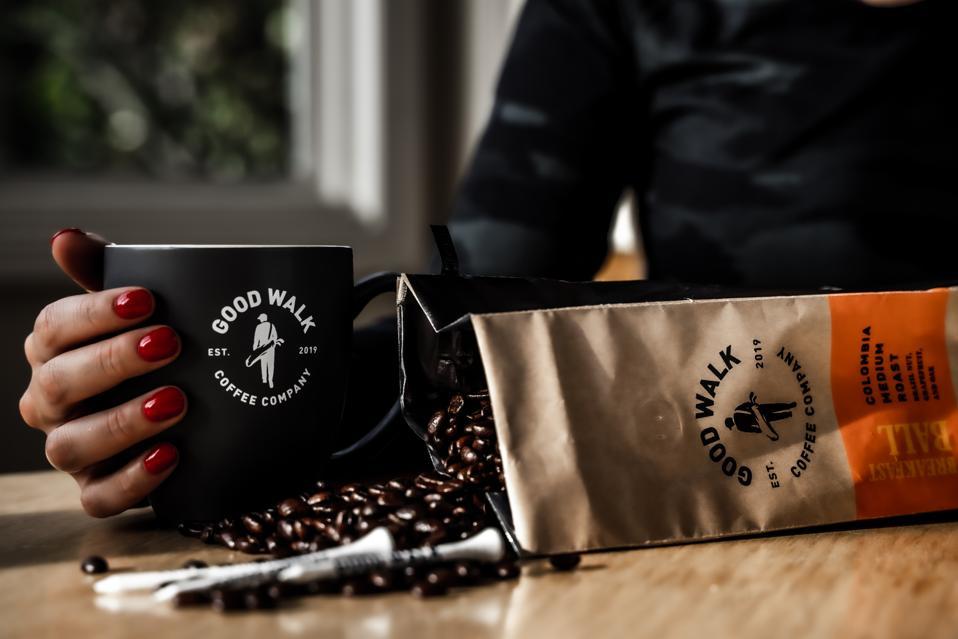 Bag of Good Walk Coffee beans