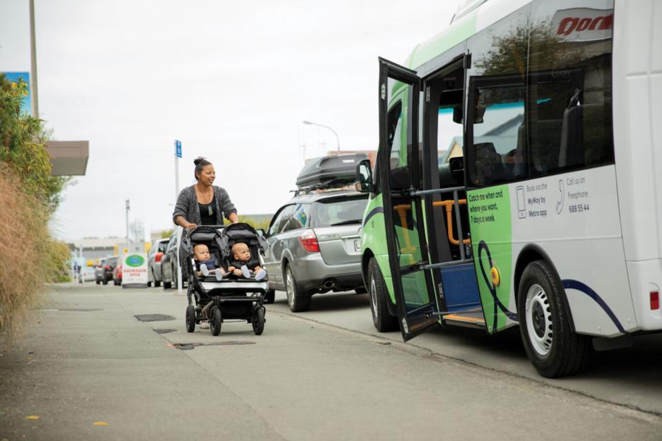 Boarding a Timaru bus service in New Zealand coronavirus