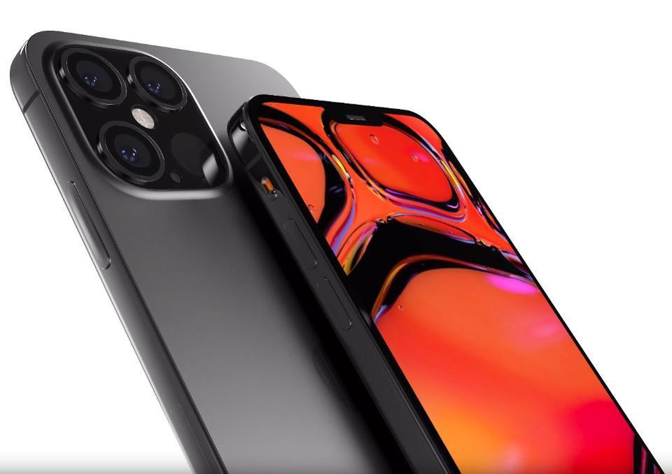 Apple iPhone 12 Pro render based on leaks