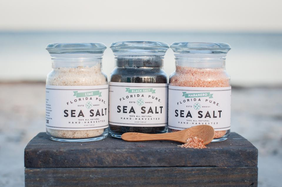 Florida Pure Sea Salt Gourmet Provisions Home Cooking Sustainable Food Chef