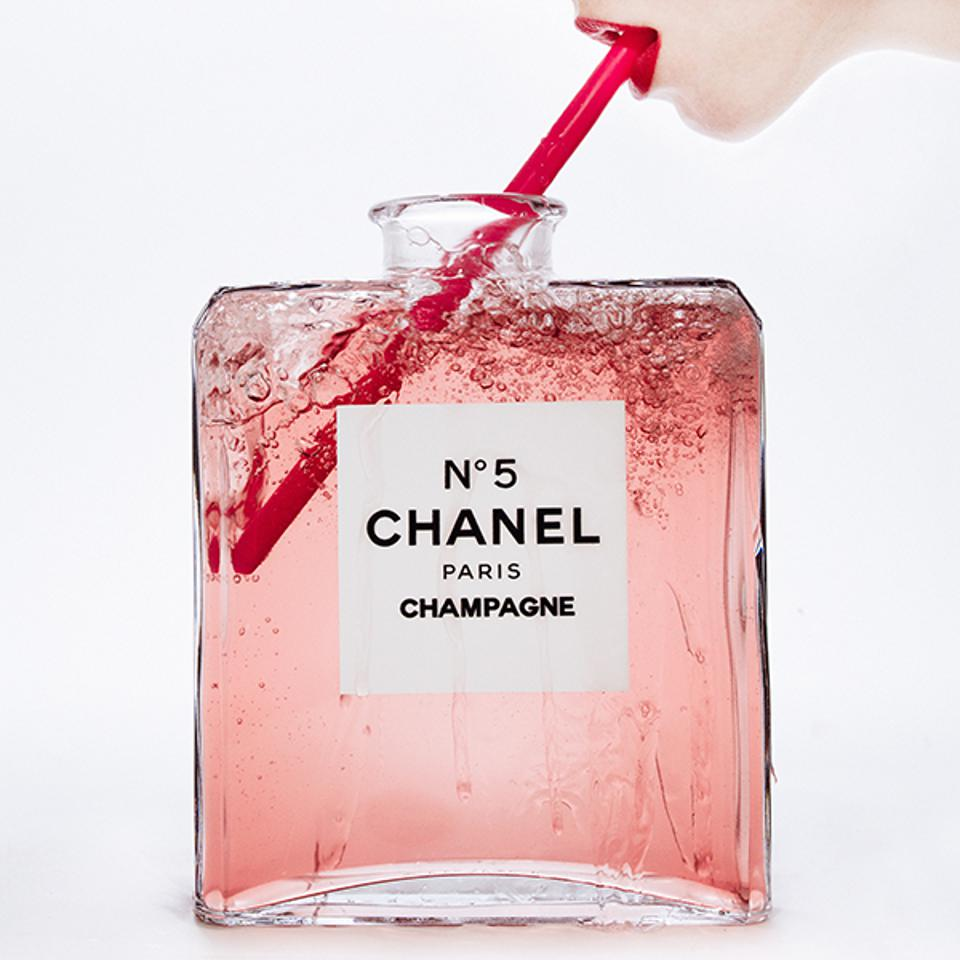 'Chanel Champagne' by Tyler Shields