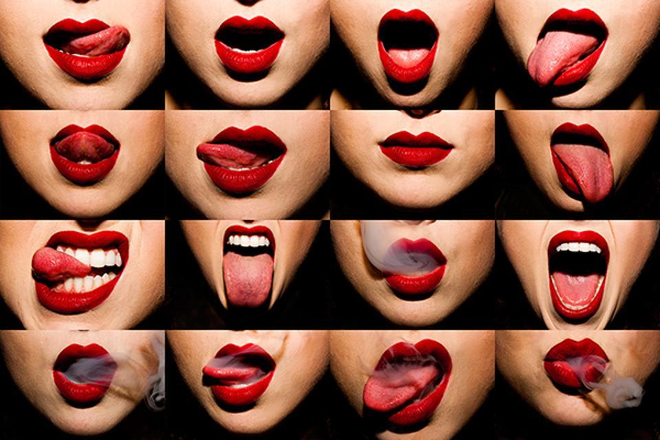 'Mouthful' by Tyler Shields