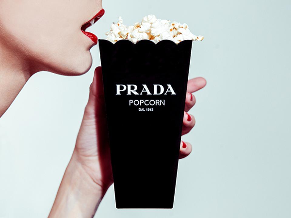 'Prada Popcorn' by Tyler Shields