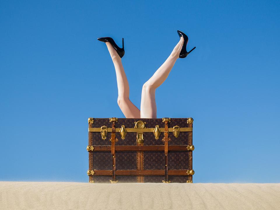 'Louis Vuitton Legs' by Tyler Shields